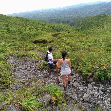 Soufrière Mountains, St. Vincent: Breath taking views...