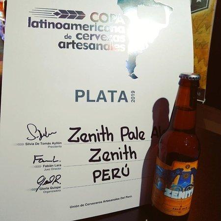 Cerveza Zenith