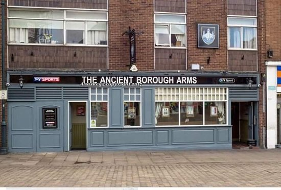 Pontefract, UK: Ancient Borough Arms