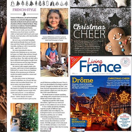 Mayenne, Fransa: Featured in Living France Christmas edition. Enjoy a French Christmas at L'Hotel de Hercé