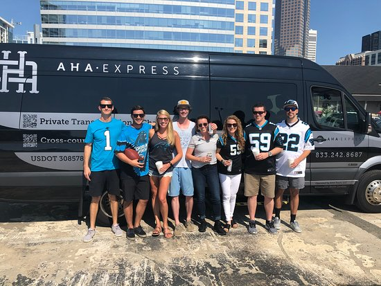 AHA Tours : Panthers Games from Wilmington NC