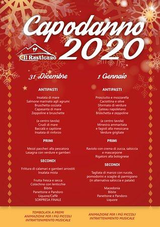 Per festeggiare un #Capodanno scoppiettante 💣 vieni al ristorante Il Rusticano 🍽. Ti aspetta un #Menù squisito 😋 per terminare in bellezza il vecchio anno e accogliere con entusiasmo il 2020! 🎆 Prenota subito! 😍
