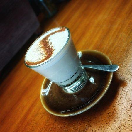 Chai latte @ The Barn