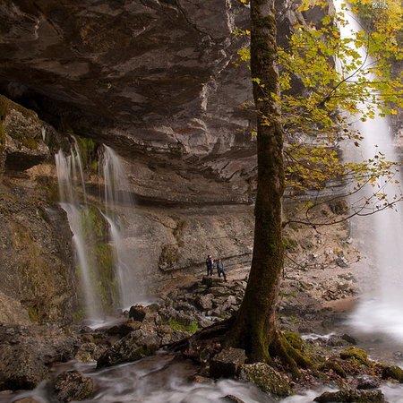 Jura, Francja: Cascade du Hérisson