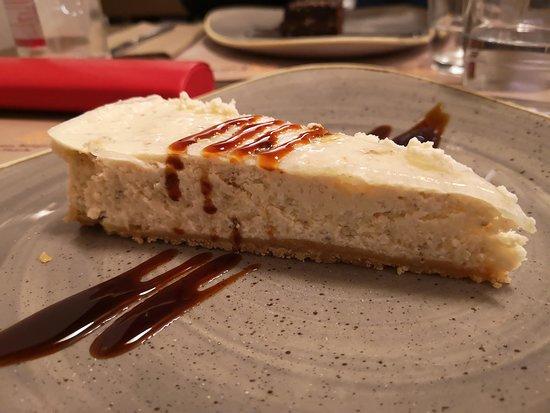 Castelletto sopra Ticino, Ιταλία: Cheese cake con fichi