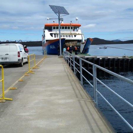 Terminal portuario de melinka