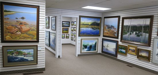 Sudbury, Kanada: For over 30 years Stopciati Gallery has featured the largest collection of high quality originals and reproductions by resident Canadian artist John Stopciati.