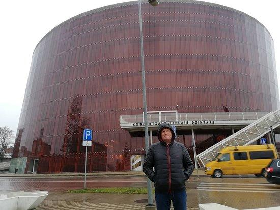 """Concert Hall Great Amber: Лиепайский концертный зал """"Большой янтарь""""."""