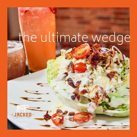 Try our Ultimate Wedge - perfect for a light lunch
