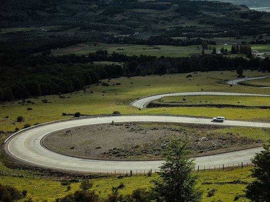 Aisen Region, Chile: Cuesta del diablo, carretera Austral