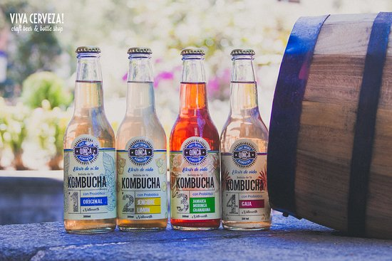 We are more than just beer!  Now offering Kombucha!