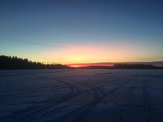 Kabetogama, MN: On the ice