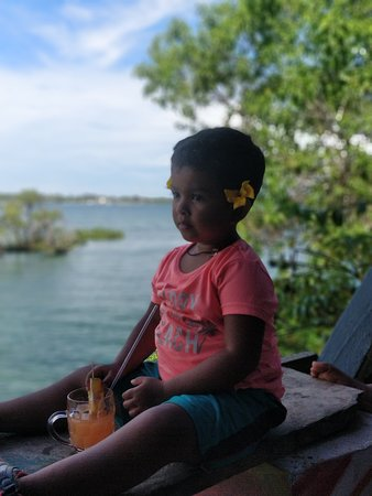 Kaole restaurant: drink and the beautiful scenery