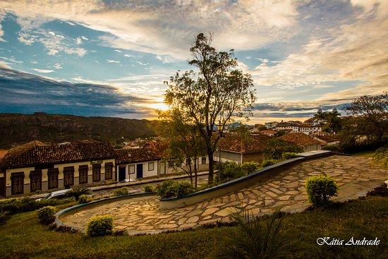 Este registro foi feito na encantadora cidade de Diamantina MG.Essa vista maravilhosa é no Hotel Tijuco, um excelente lugar para se hospedar em Diamantina