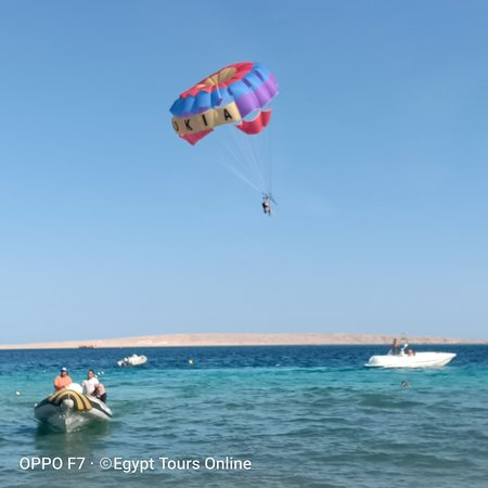 Parasailing Hurghada By Egypt Tours Online Team Picture Of Hurghada Long Beach Resort Hurghada Tripadvisor