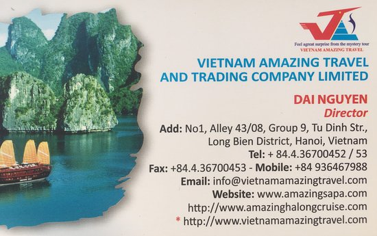 Vietnam Amazing Travel