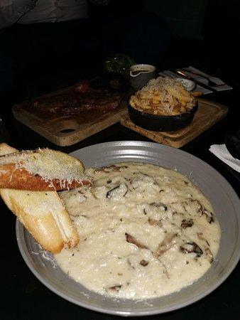 Truffle and mushroom risotto
