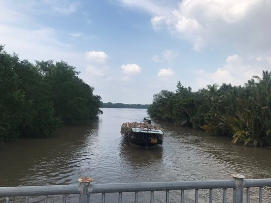 A day in Mekong delta
