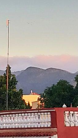 Iglesia Santísima Trinidad, vista desde la terraza