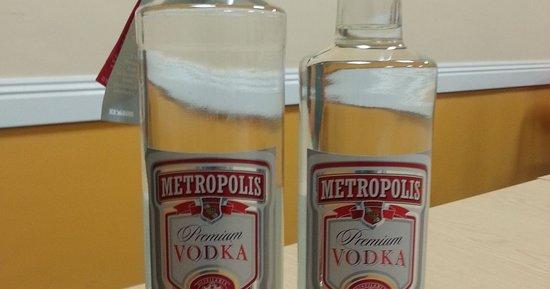 Leven, UK: Fake vodka  cheap drinks