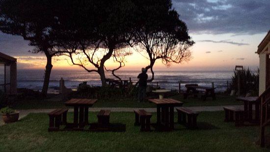 Kei Mouth, Južna Afrika: zonsopkomst.