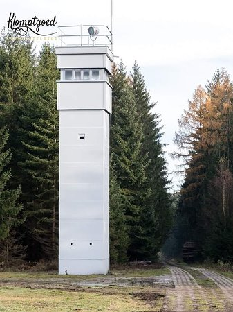 On the edge of the small village Sorge, you will find the border museum. One of the authentic remains is the watchtower.