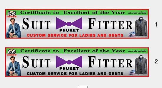 Suit Fitter Phuket