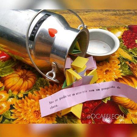 Manhumirim, MG: Antes de sair, não esqueça de tirar a sorte na nossa leiteirinha mágica!