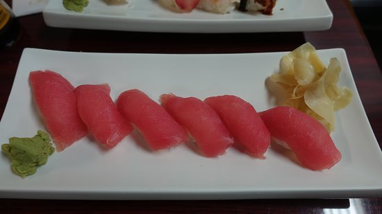 Nigiris só de atum