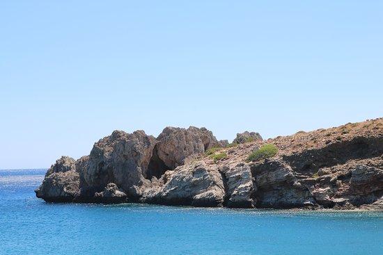 Agios Pavlos, Grecia: la plage