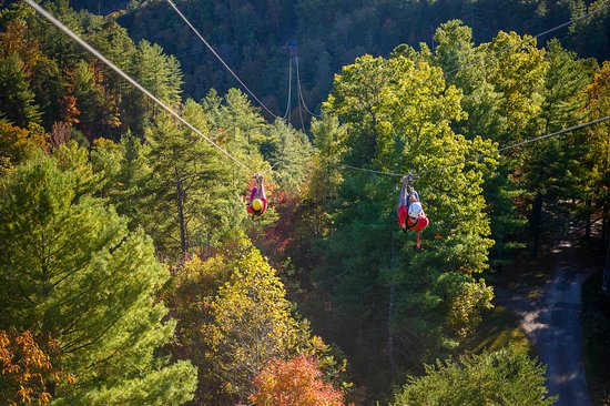 Red River Gorge Zipline