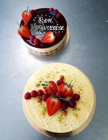 Fraisier : strawberry & vanilla cake.