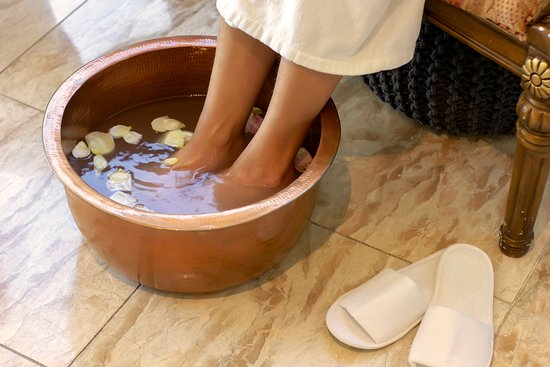 Foot bath and pedicure - Picture of The Spa at Nugget Point, Queenstown -  Tripadvisor
