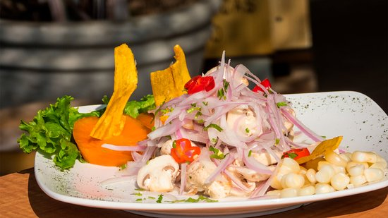 Do you want to try the main Peruvian dish without eating fish? Try our vegan mushroom ceviche!