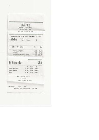 Vendee, فرنسا: BARA T'AIME, restaurant, 6 Place JeanYole, 85300 SOULLANS. Restau sympa, ouvert le dimanche midi aussi.