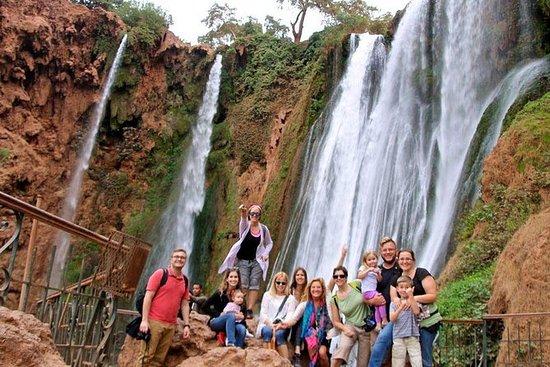 从马拉喀什到Ouzoud瀑布小团体的一日游