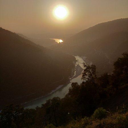 Beautiful ganga view
