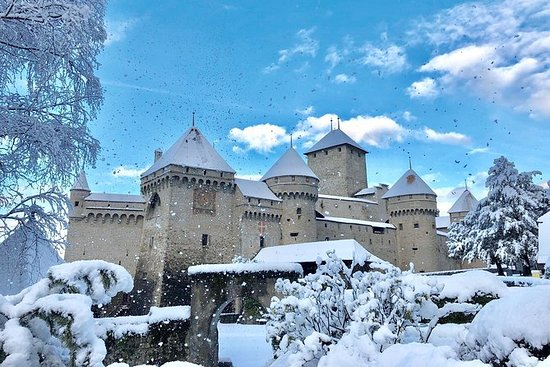 Toegangsticket Château de Chillon in ...