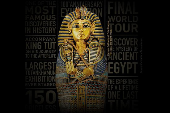 Tutankhamun: Treasures of the Golden Pharaoh at Saatchi Gallery London