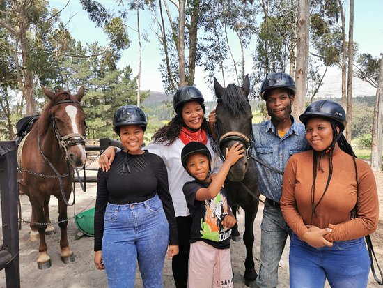 Hermanus, Afrique du Sud : Family day - Horse Riding !!!