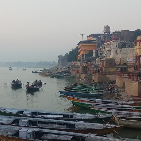Varanasi walks with shore of Ganges