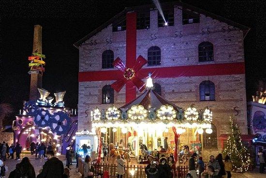 Kerstmis bij de molen van de elfen ...