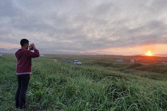 Kamchatka grunderna på en dag