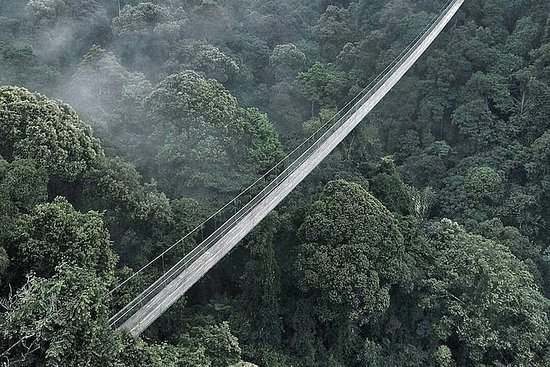 SUSPENSION BRIDGE SUKABUMI FROM BANDUNG