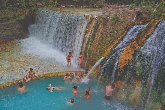 Banhos de Pozar e cachoeiras de...