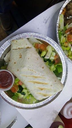 East Orange, NJ: Gyro Grill Sandwich