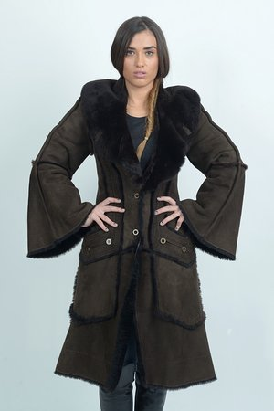 Sheepskin coat!