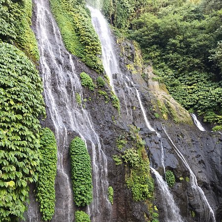 It's one of the lovely waterfalls at the central part of Bali where it offers you tranquility of Mother Nature. It allows you to embrace the untouched nature in its best. Enjoy a lovely swim and feel the fresh cool mountain spring water.