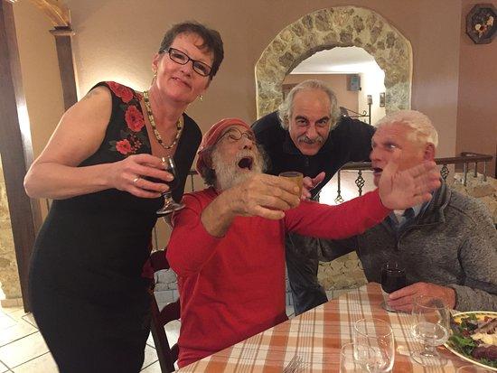 Antonimina, Italy: Lovely evening with friends