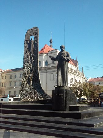 Taras Schevchenko monument